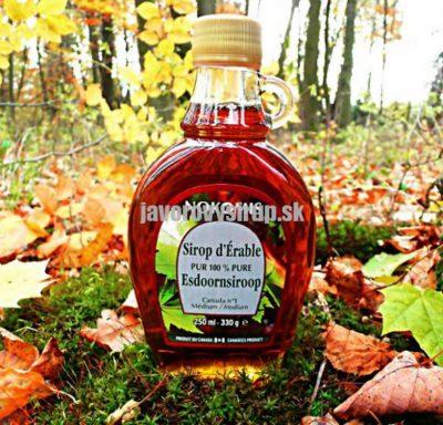 Javorový sirup Grade A Medium (po novom Amber) 250 ml sklo