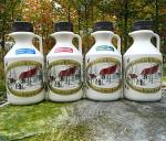 Javorové sirupy 500 ml krčahy výber druhov sirupu